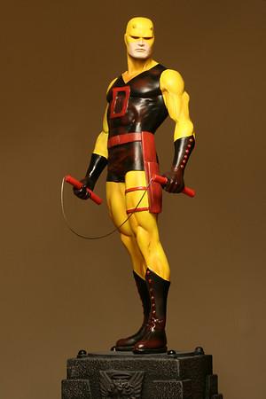Bowen Designs Daredevil Statue Yellow Variant PHASE 1