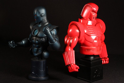 Bowen Designs Iron Man vs Crimson Dynamo Mini Busts