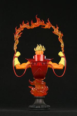 Bowen Designs Pyro Mini Bust Statue Marvels Exclusive