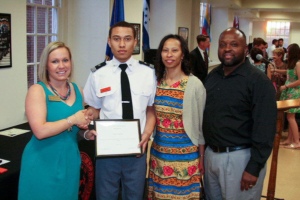 Cadet Lovelace wins Shiloh Scholarship