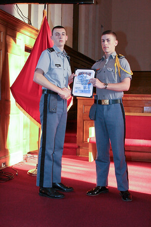 March 2015 Cadet of the Month