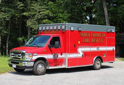 Ambulance 56   2015 Ford E-450 / PL