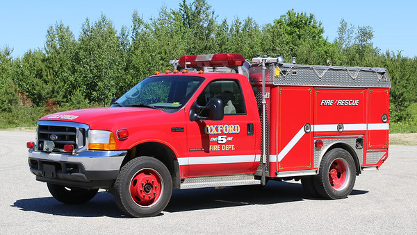 Engine 5.  2001 Ford F-450 / E-One.  80 / 200