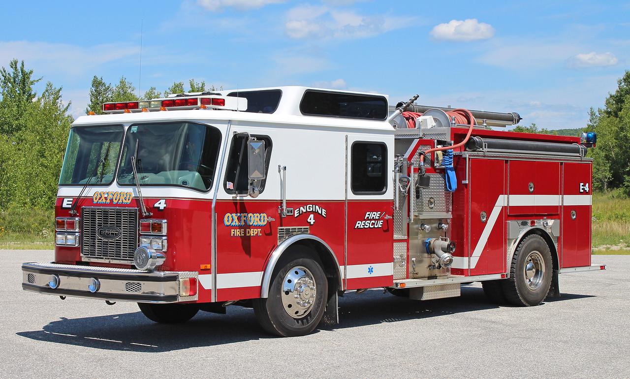 Engine 4 1995 E-One  1250 / 1000