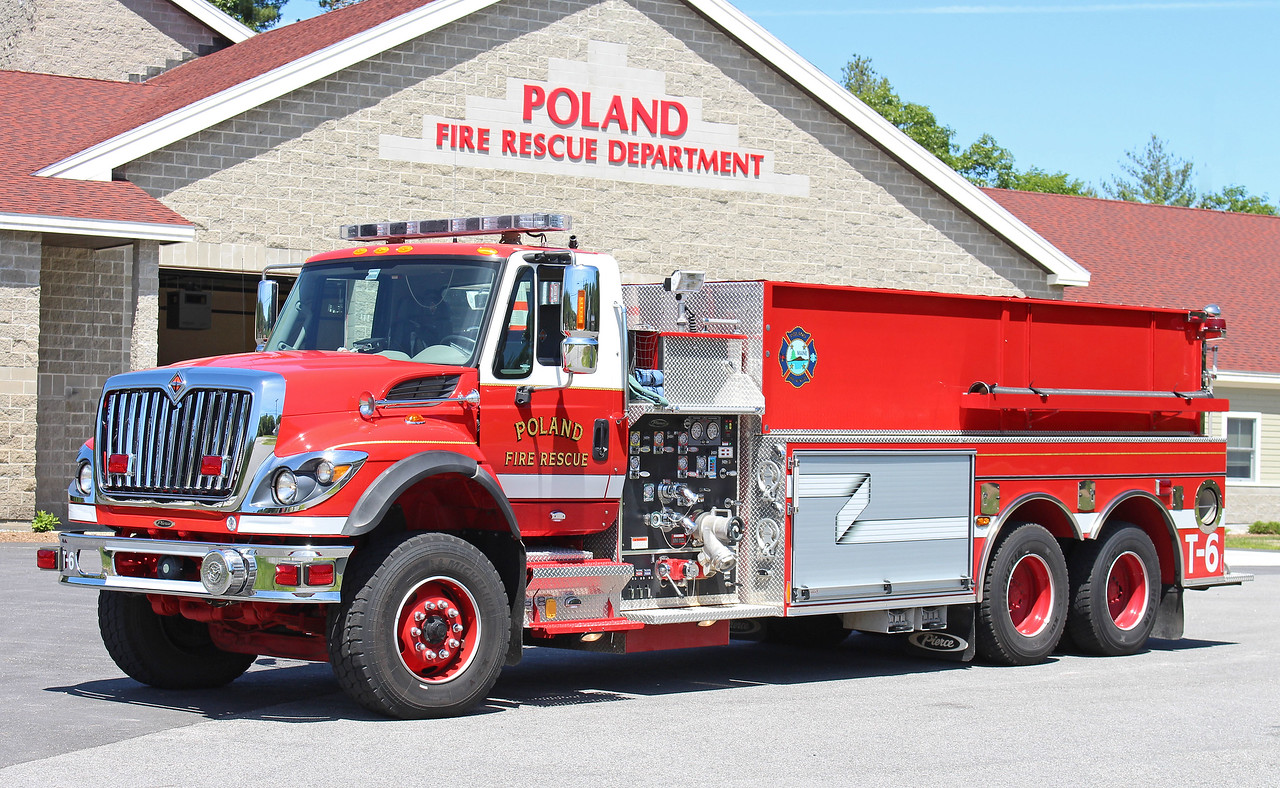 Tanker 6 2010 International / Pierce 1000 / 2500