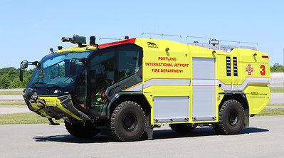 Red 3.  2019 Rosenbauer Panther.  2100 / 1600 / 500 Dry Chemical