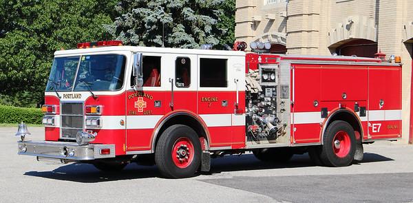 Engine 7.  1998 Pierce Dash.  1500 / 750