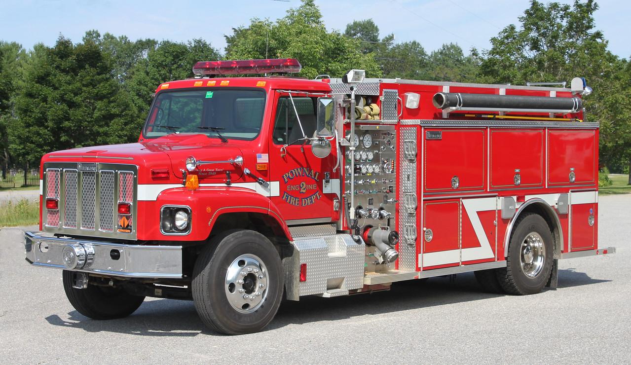 Engine 2 1998 International / Metalfab 1250/1500