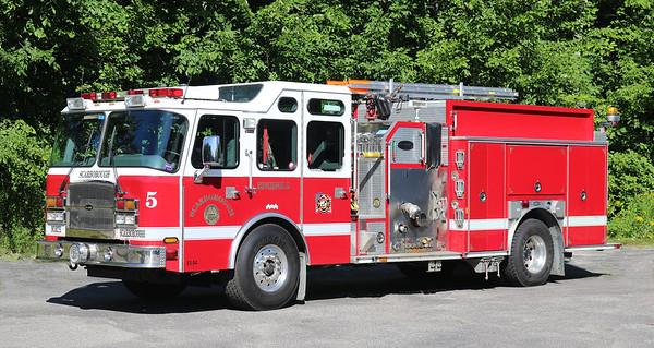 Engine 5.  2004 E-One   1500 / 1000