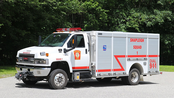 Squad 1.  2007 GMC / 2010 Metalfab.  250 / 500 / 5A Foam