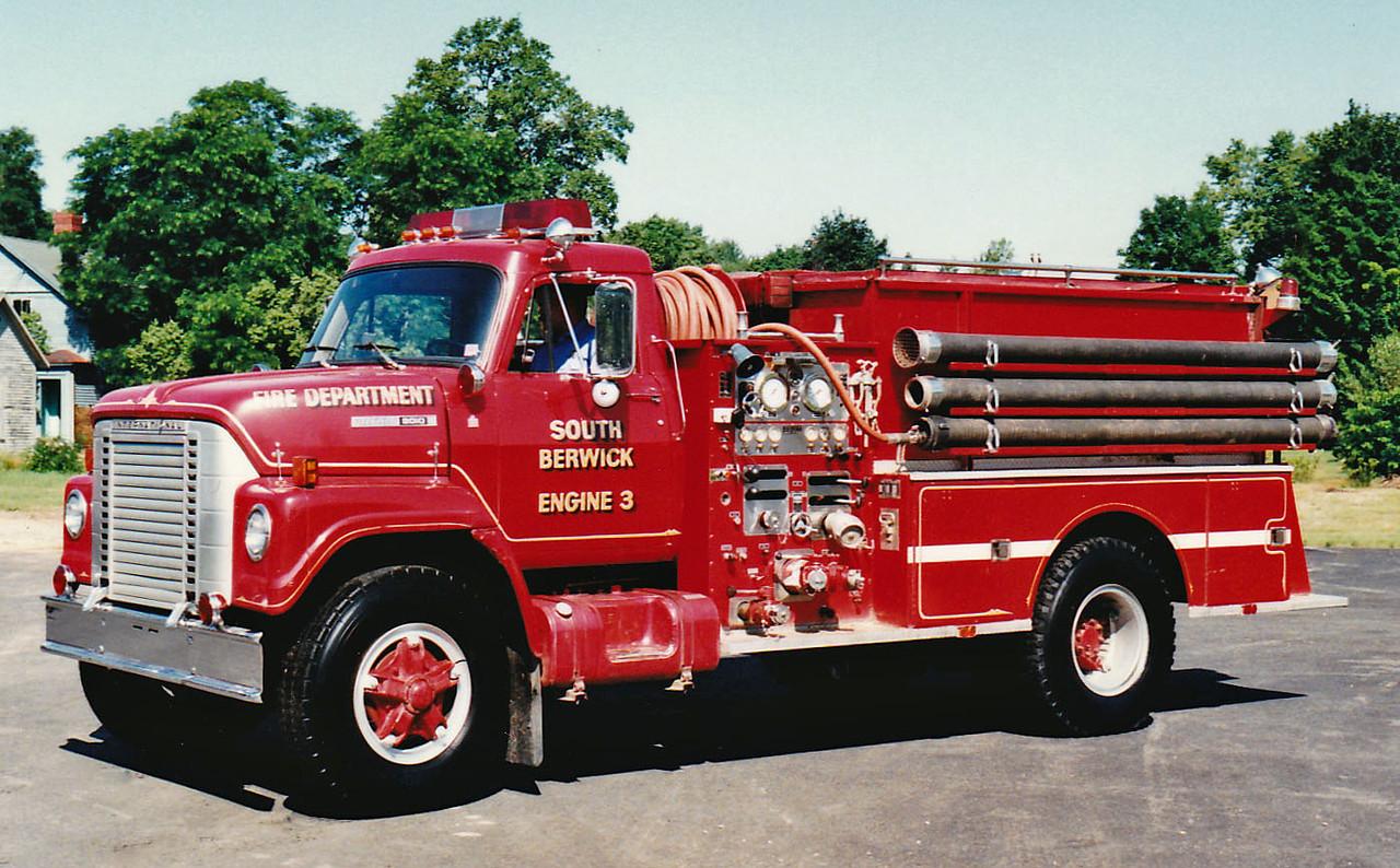 Retired  Engine 3