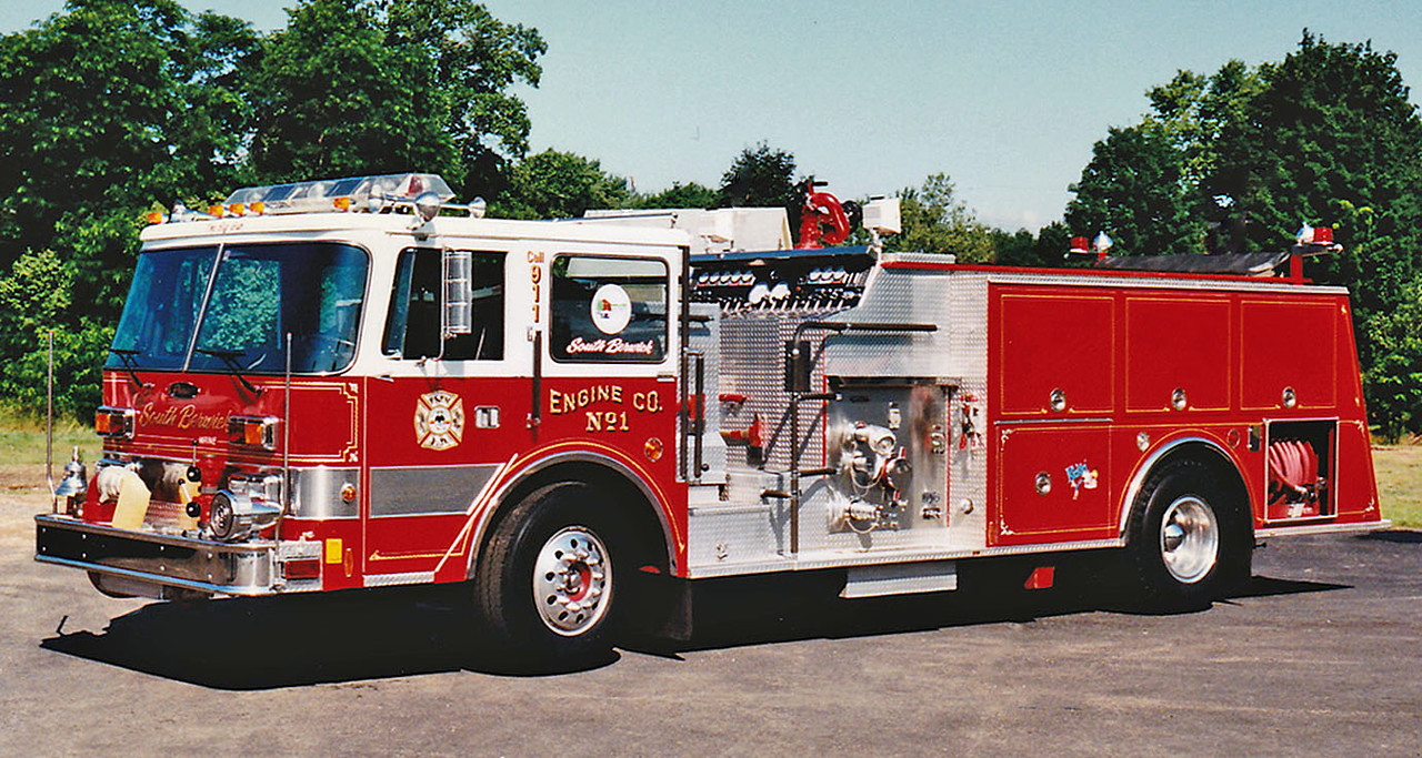 Retired  Engine 1 1987 Pierce Arrow 1500 / 500
