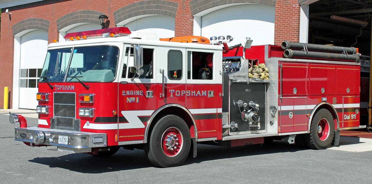 Engine 1  1996 Pierce Saber  1500/1000