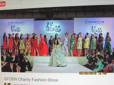 Tsai Meng Hsia Fashion Show in Thailand