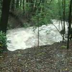 flooding Lehigh Gorge at Rockport videos 9-8-11