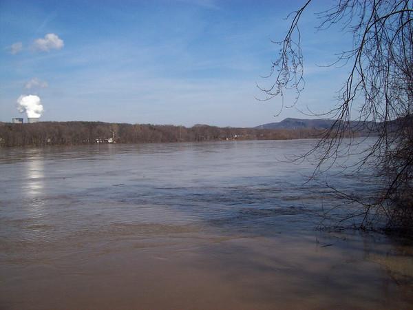 Susquahanna river flooding 3-6-08