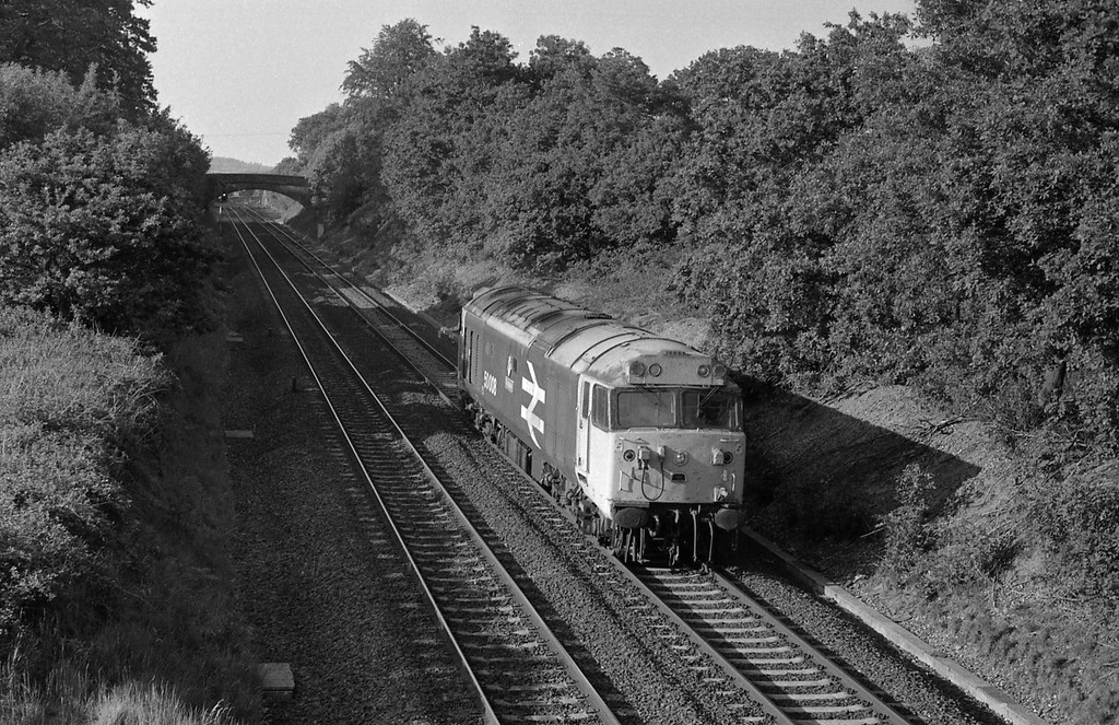 50008, down light, Willand, near Tiverton.