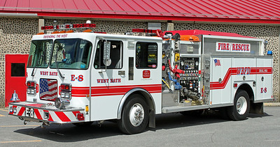Engine 8  1996 Spartan/Central States  1250/800