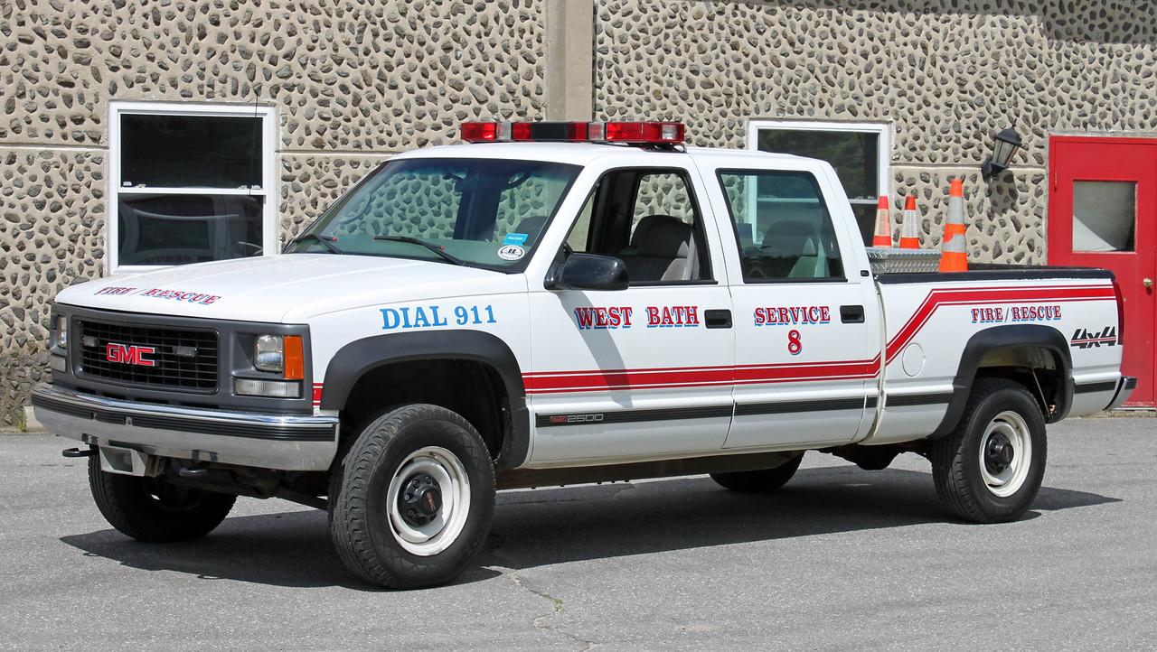 Service 8  2000 GMC