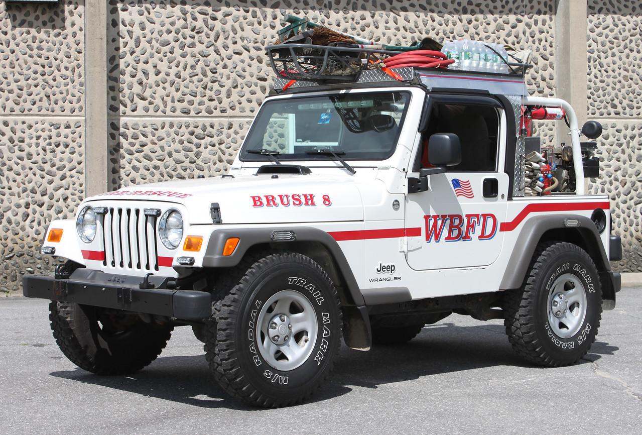 Brush 8  1985 Jeep CJ-7  100 Gallons