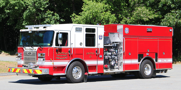 Engine 6.  2016 Pierce Saber.  1500 / 1000