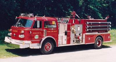 Retired Engine 5.  American LaFrance