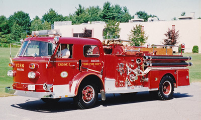 Retired Engine 2.  1970 American LaFrance.  1000 / 500