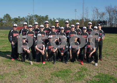 Cheatham Middle Baseball Team Pics