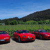 Three generations, three great reds! Classic Red NA, True Red NC and Velocity Red NB SE