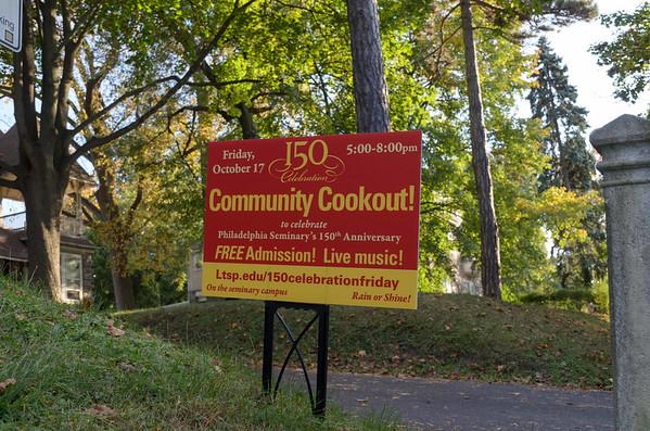 LTSP 150 Community Cookout 10172014