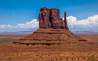 """Monumental"" The Mitten at Monument Valley. Utah"