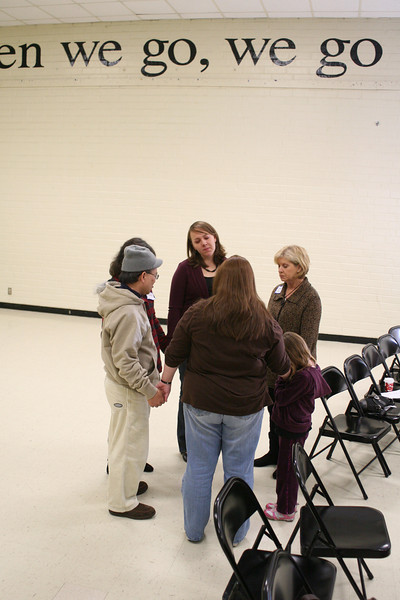 December 2010 Volunteer Prayer Service