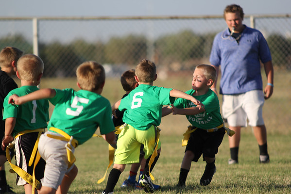 TURTLES VS YOUNG GUNS FLAG FOOTBALL