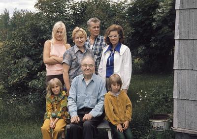 1972...The Farm, w/Grandpa/GreatGrandpa