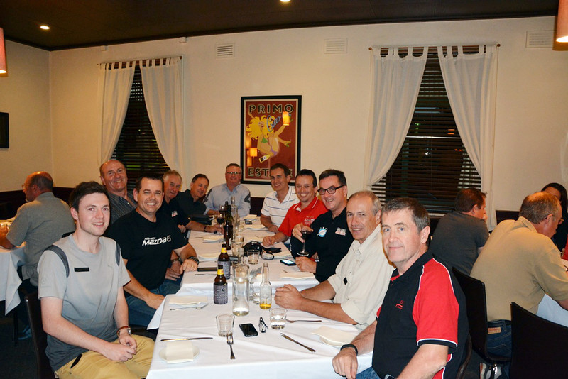 "Pre-event dinner at ""The Northo"" in Benalla"