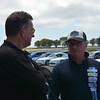 Noel Heritage with Club Captain - Motor Sport, Tim Emery