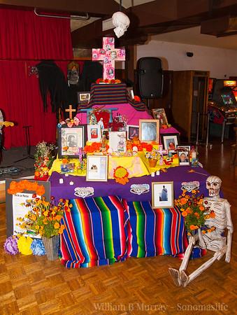 2015 Day of the Dead La Luz Center