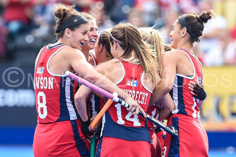 Bronze Medal Game, USA vs. Australia Hockey Champions