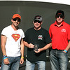 Dean Watchorn (centre) - 2nd place, Super Modified
