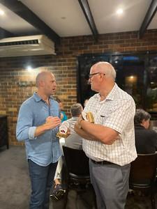 Simon McLean and Robert Downes