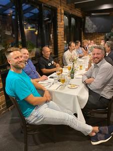 Tim van Duyl, Simon Acfield, Tom Whelan and Stuart Dawson