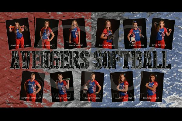 Avengers Softball Team