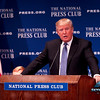 DONALD TRUMP 2014 : Mr Donald Trump delivers an impressive speech about life, investments and politics at the National Press Club Washington DC.