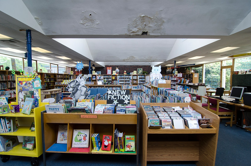 The Fitchburg Public Library is seeking an architect to design a $22 million renovation, which the library hopes to get a grant for in 2017. Expanding the children's area and adding a children's program room are two key parts of a planned renovation of the library. SENTINEL & ENTERPRISE / Ashley Green