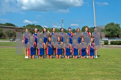 HMS Football Cheerleaders Team Pics
