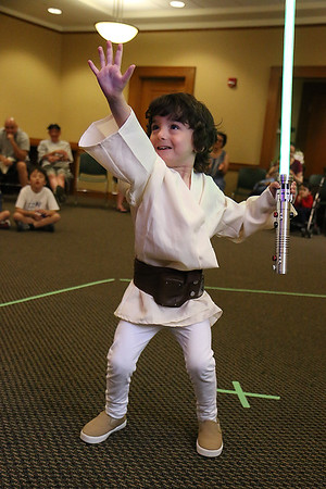 Jedi's at Leominster Public Library