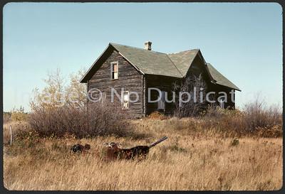 1975-Oct: MUSAKKA HOUSE; Landmark Finnish Homestead, Hwy. 53 North of Virginia MN