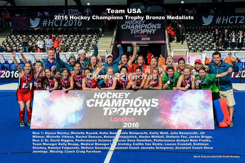 2016 Bronze Medal Hockey Champions Trophy