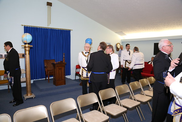 Bartimaeus Lodge UD. Installation of Officers 05-30-2015