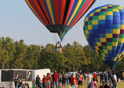 Hot Air Ballon Race - Gonzales, LA - 2012